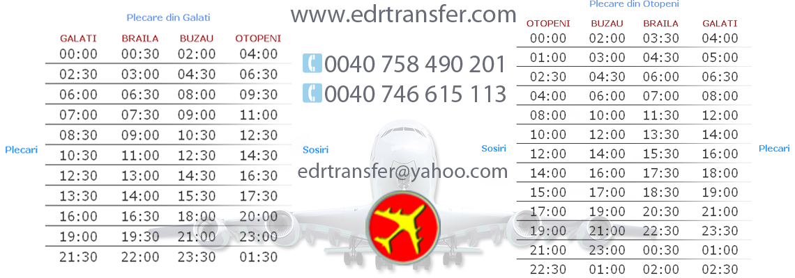 transfer aeroport ediontrans galati